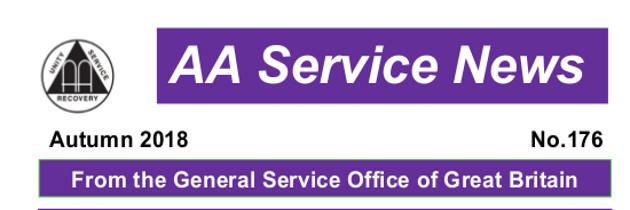 176 Autumn 2018 Service News