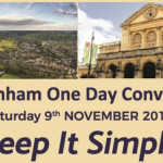 "Cheltenham Convention ""Keep it Simple"""